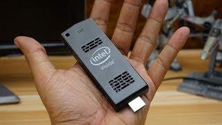 сМОТРИ ОБЗОР mini pc Intel Compute Stick в работе