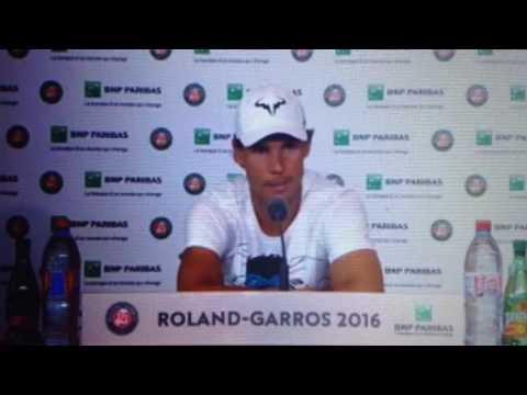 RG 2016 : Nadal abandonne