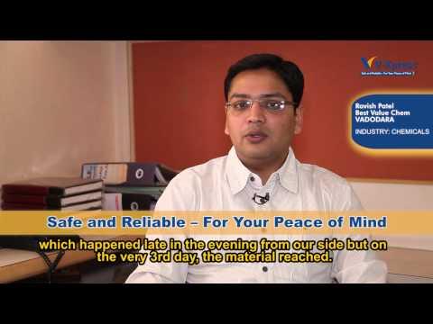 Mr. Ravish Patel, Business Development Manager, Best Value Chem Pvt Ltd, Vadodara
