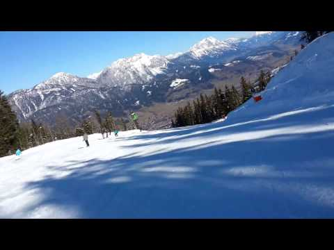 Austria - Schladming downhill skiing