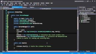 كيفية إنشاء دردشة بسيطة التطبيق في C#(المتزامن متعددة العملاء, مآخذ, الحزم) - P1.2