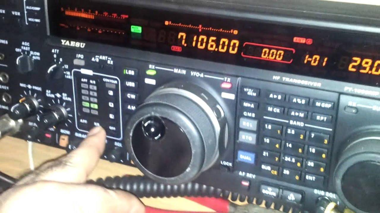 Ft 1000mp Mark V Test Filtri Youtube