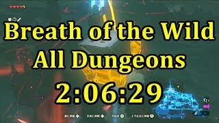 Breath of the Wild All Dungeons Speedrun in 2:06:29 (No Amiibo) (WR)