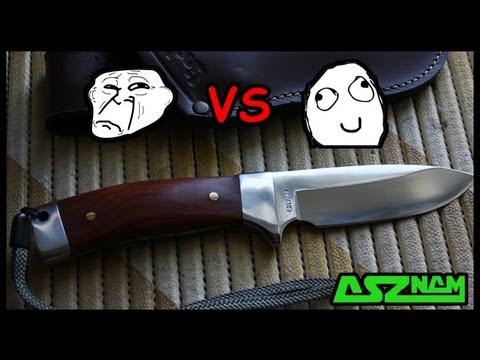Тест ножа на...