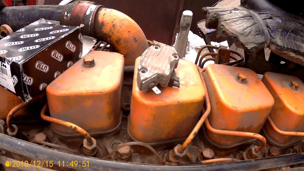Ремонт генератора ДАФ -45 . + насос подкачки топлива .