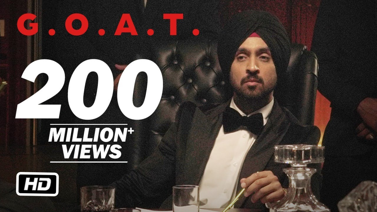 Diljit Dosanjh - G.O.A.T. (Official Music Video)