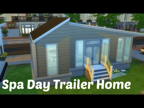 Spa Day Trailer Home Part 4 || Sims 4 |