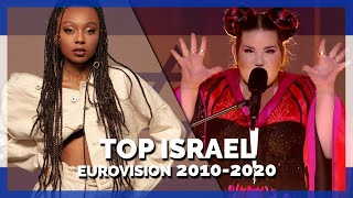 Eurovision ISRAEL (2010-2020)   My Top 11