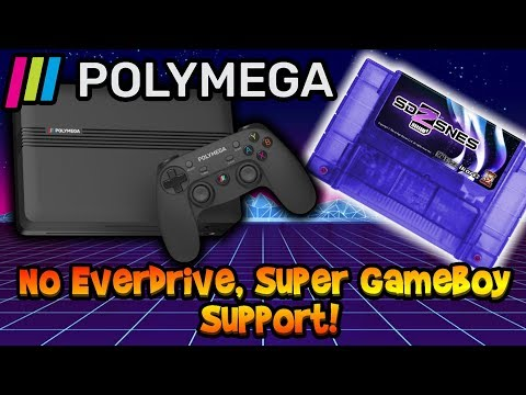 Polymega No Everdrive Or Super Gameboy Support & POOR Communication! Rant