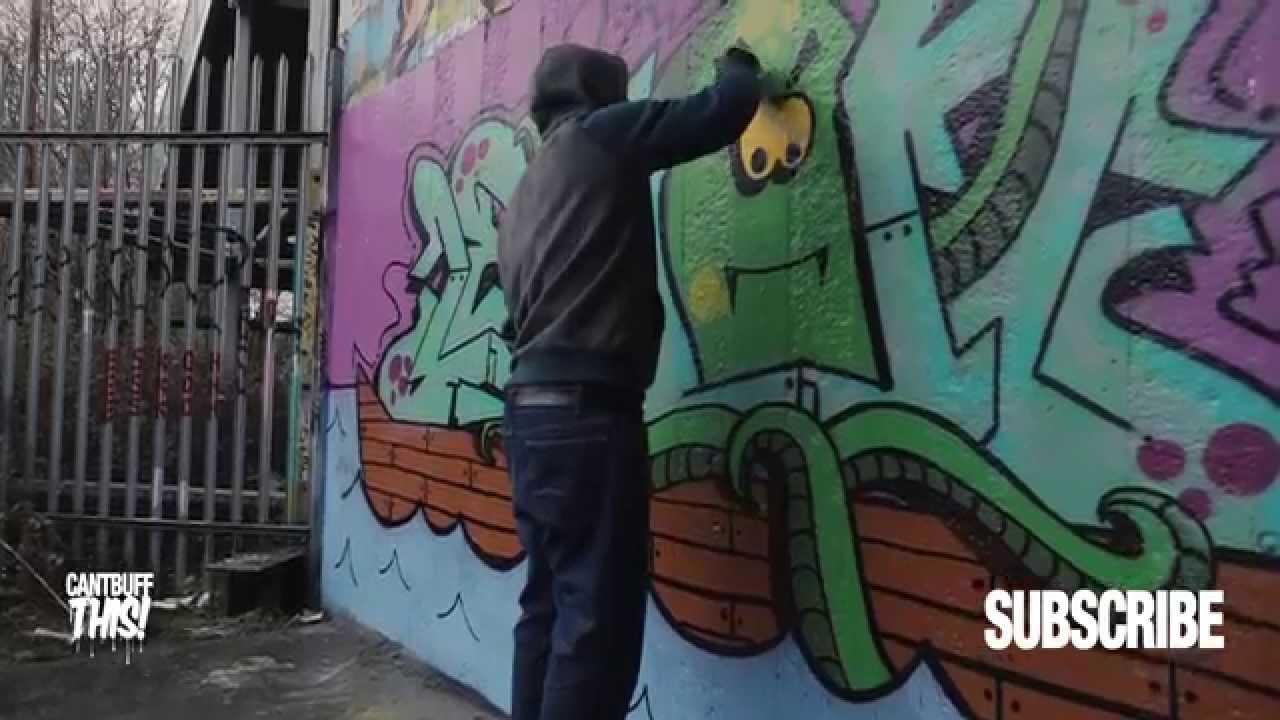 Cantburnthis Vol 5 Lemon Htb London Graffiti Youtube