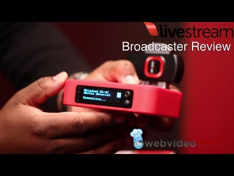 Livestream Broadcaster Review and First Look