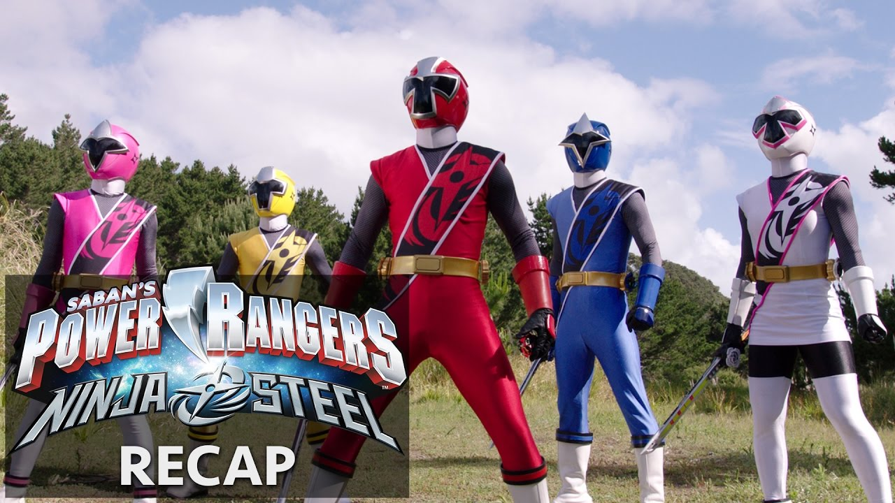 power rangers ninja steel recap youtube