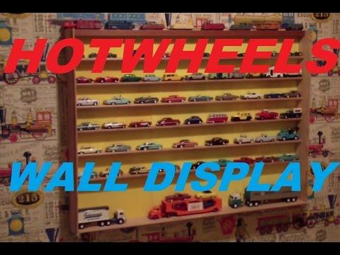 Custom Hotwheels ~ Matchbox ~ Johnny Lightning ~ M2 ~ Diecast Car Wall Display Case