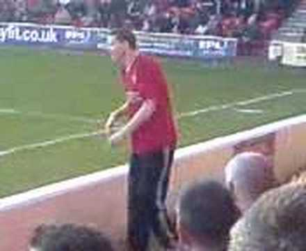 Walsall FC's dancing fan Part 2