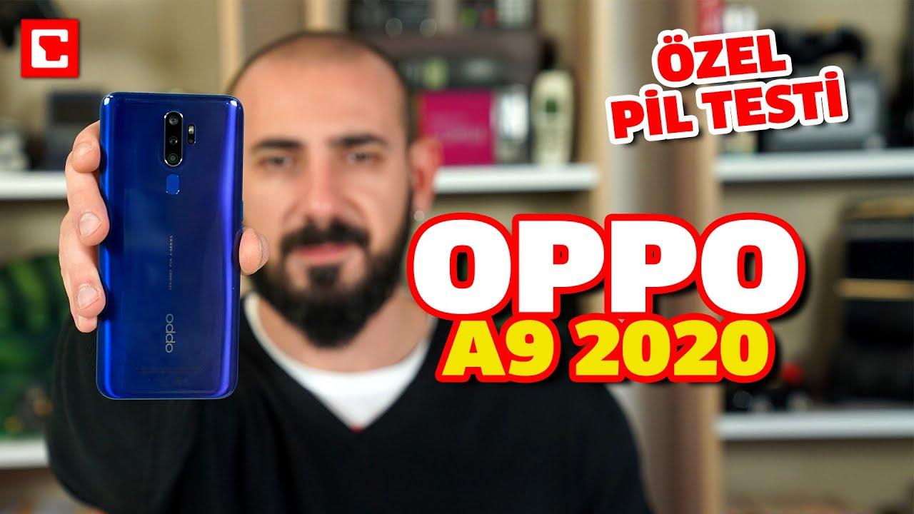 Dev Ekranıyla Dikkat Çeken Oppo A9 2020 Pil Testi | 2 Hoparlör 4 Kamera