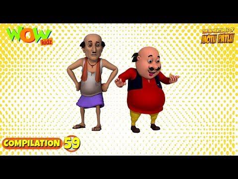 Motu Patlu Cartoons In Hindi |  Animated cartoon | compilation episode | Wow Kidz