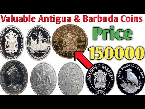 Antigua & Barbuda Most Valuable Coins Worth Money | Old Antigua & Barbuda Coins Value & Price