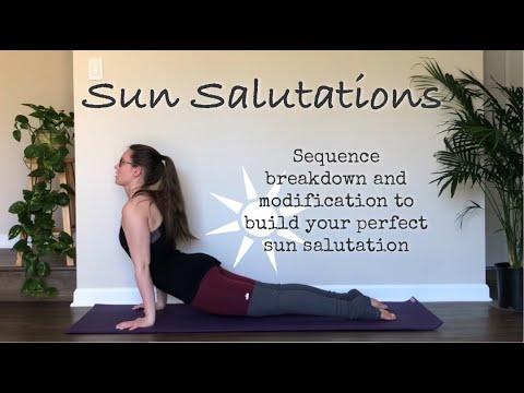 breaking down sun salutation for beginners / morning yoga