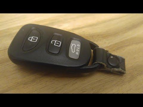Hyundai Elantra / Sonata Key Fob Battery Replacement – DIY
