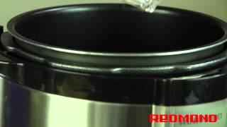 Креветки под сыром в мультиварке-скороварке REDMOND RMC-M4504