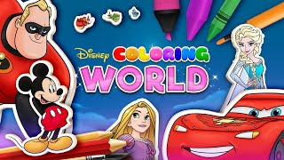 Disney Coloring World - The Incredibles Update