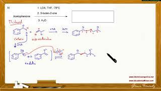 Reacción de Michael entre la acetofenona y la 3-buten-2-ona