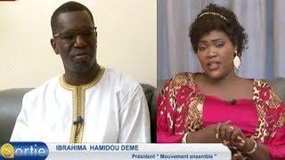 Sortie avec Ibrahima Hamidou DEME (Président Mouvement Ensemble)