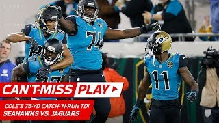 The Seattle Seahawks take on the Jacksonville Jaguars in Week 14 of...