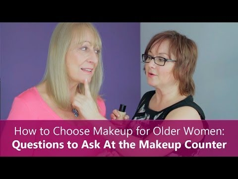 How to Choose Makeup for Older Women: Questions to Ask At the Makeup Counter thumbnail