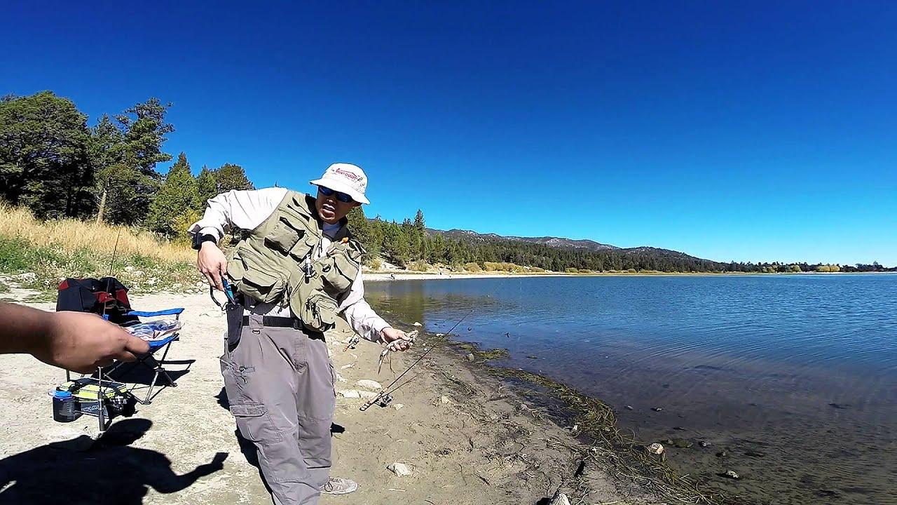 Big bear lake fishing youtube for Fishing in big bear