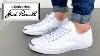 JACK PURCELL LEATHER All White Review
