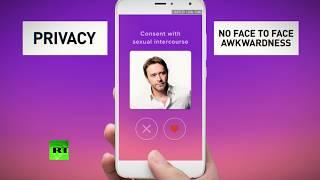 New Romantics? Sex contract app available now