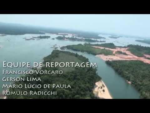 Uma Montanha de Ouro por Trás de Belo Monte (Volta Grande do Rio Xingu - Altamira, Pará, Brasil)