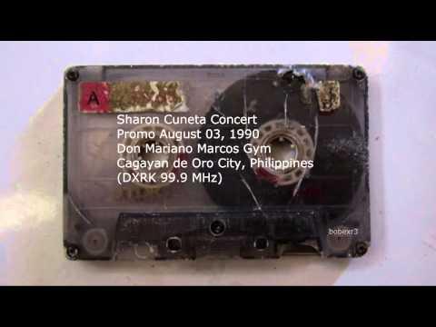 Sharon Cuneta 1990 Concert Promo Cagayan de Oro (DXRK 99.9 MHz)