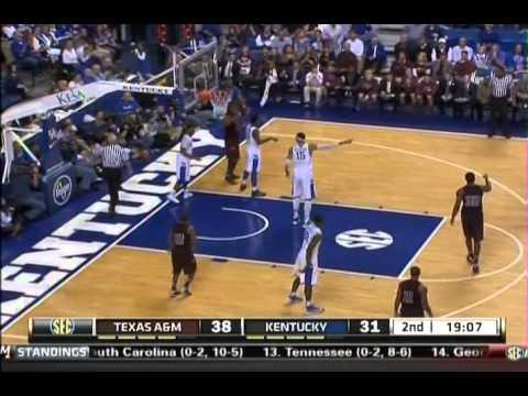 1.12.2013 - Kentucky vs. Texas A & M
