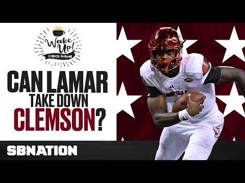 Lamar Jackson's big Clemson problem + Week 3 questions | Wake Up, College Football