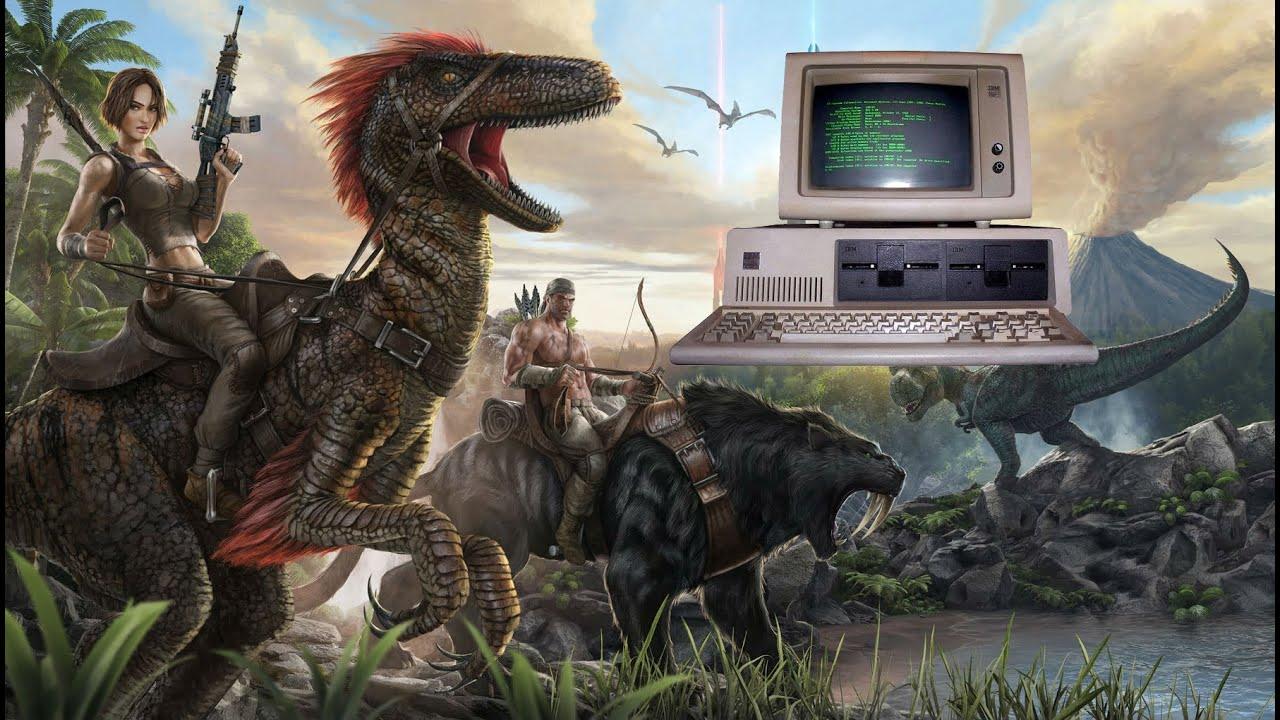 Как запустить Ark: survival evolved на слабом компьютере - YouTube