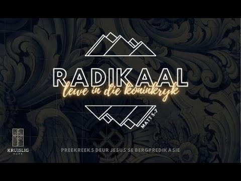 2021.04.18 - Radikaal #6 / Waldo Kruger