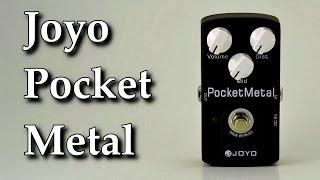 joyo pocket metal jf 35 guitar pedal demo