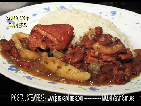 PIG'S TAIL STEW PEAS Recipe