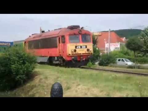 Tekergo train Hungary