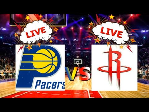 INDIANA PACERS HOUSTON ROCKETS LIVE STREAM LIVE REACTION