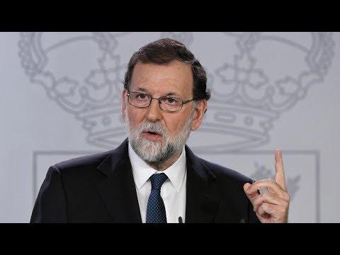 RAJOY aplica el 155 y CESARÁ a PUIGDEMONT y a TODO el GOVERN (21/10/2017)