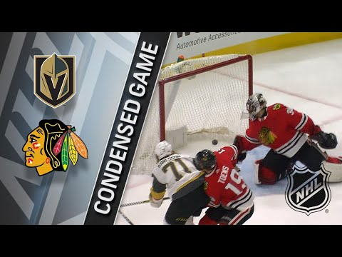 01/05/18 Condensed Game: Golden Knights @ Blackhawks