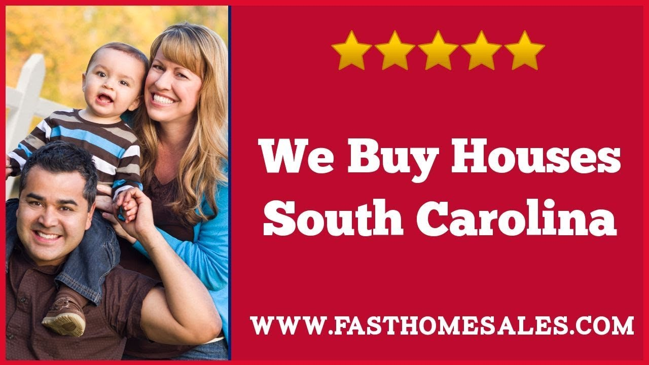 We Buy Houses South Carolina - Call 833-814-7355