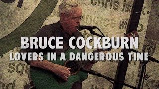 Bruce Cockburn performs