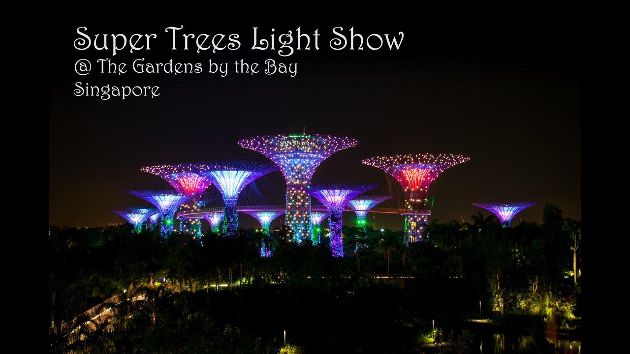 Super Trees Light Show Gbtb Singapore