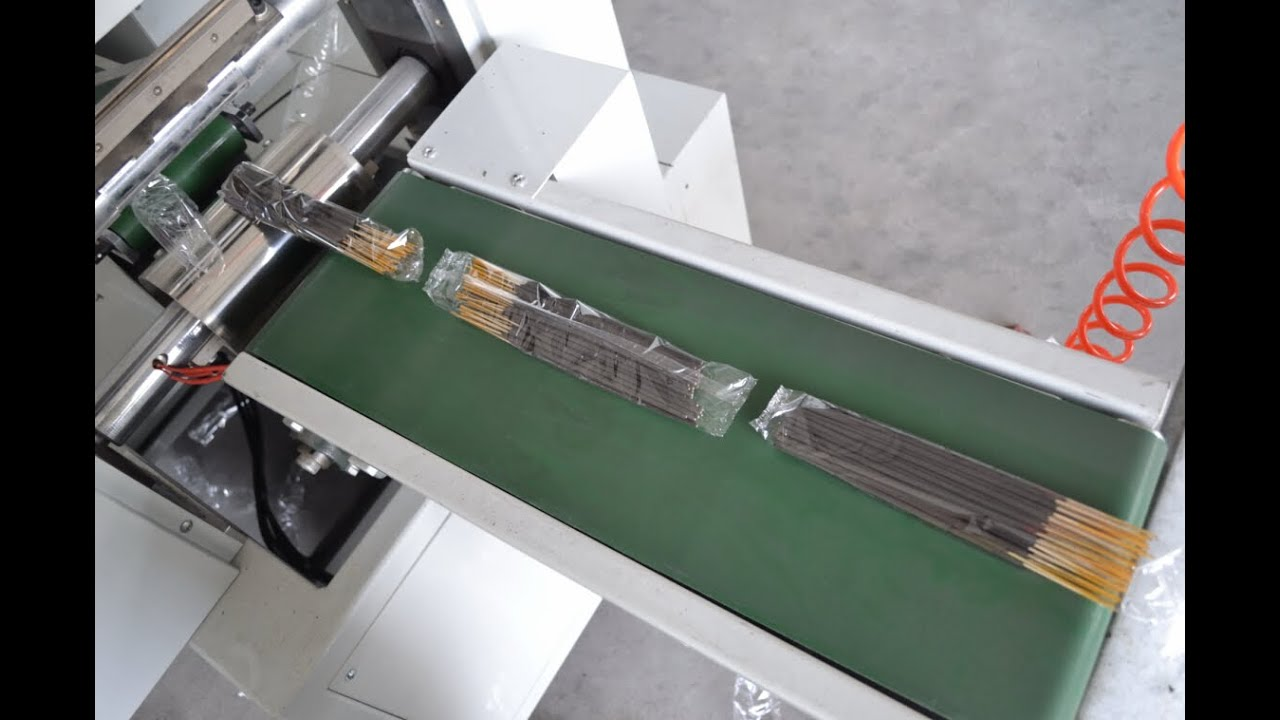 Agarbatti Incense Sticks Counting And Packaging Machine