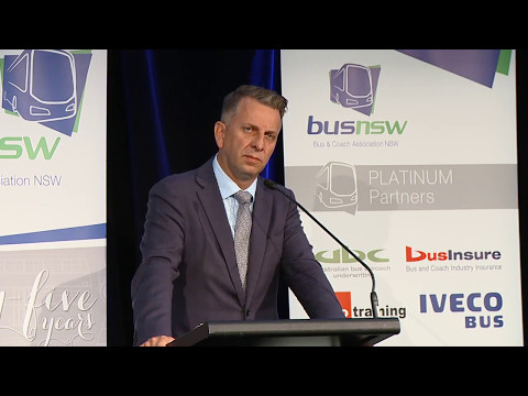 BusNSW 2017 Conference- Address by The Hon Andrew Constance, Minister for Transport & Infrastructure