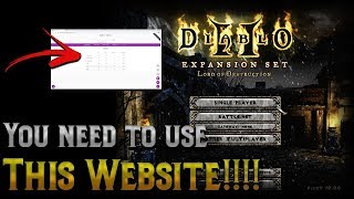 You have to use this amazing Diablo 2 website !!! How to track you Holy Grail Progress
